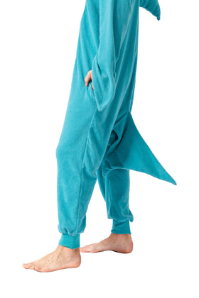 Shark Animal Onesies Costume - Adult