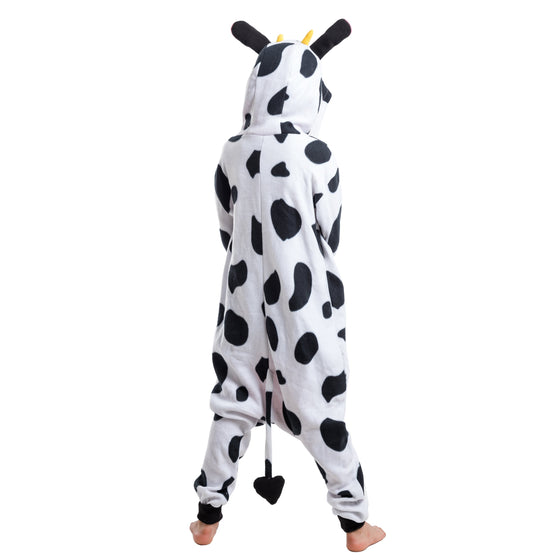 Cow Animal Onesie Pajama Costume - Child