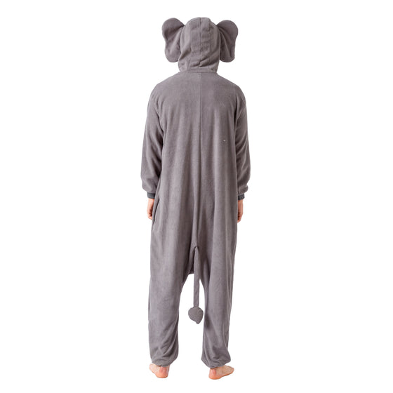 Elephant Animal Onesie Pajama Costume - Adult