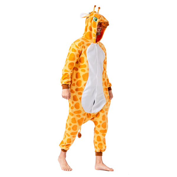 Giraffe Animal Onesie Pajama Costume - Adult - Spooktacular Creations