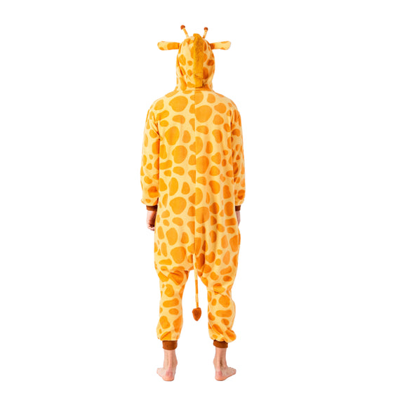 Giraffe Animal Onesie Pajama Costume - Adult