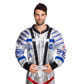 Astronaut Pilot Costume for Men - Adult