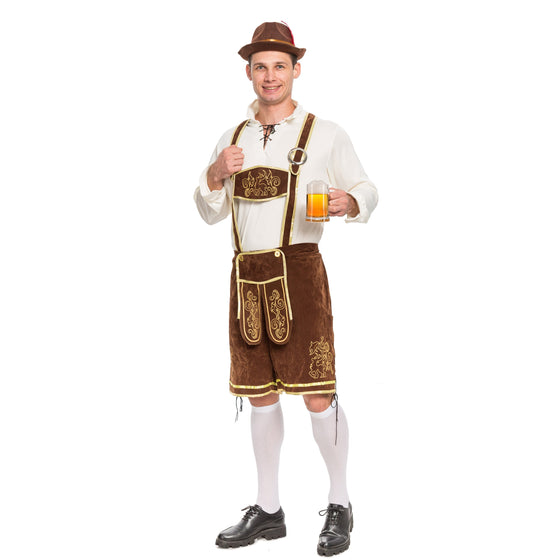Men's German Bavarian Oktoberfest Costume Set