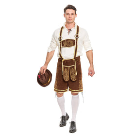 Men's German Bavarian Oktoberfest Costume Set - Adult