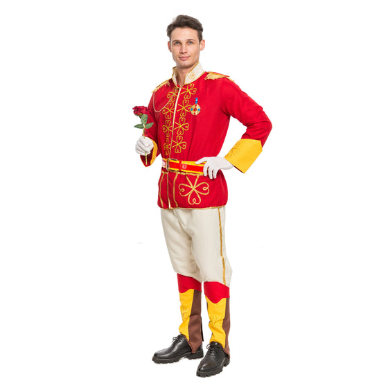 Men's Prince Charming Adult Costume