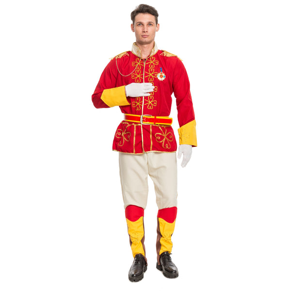 Men's Prince Charming Adult Costume - Spooktacular Creations
