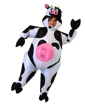 Inflatable Cow Costume - Kids