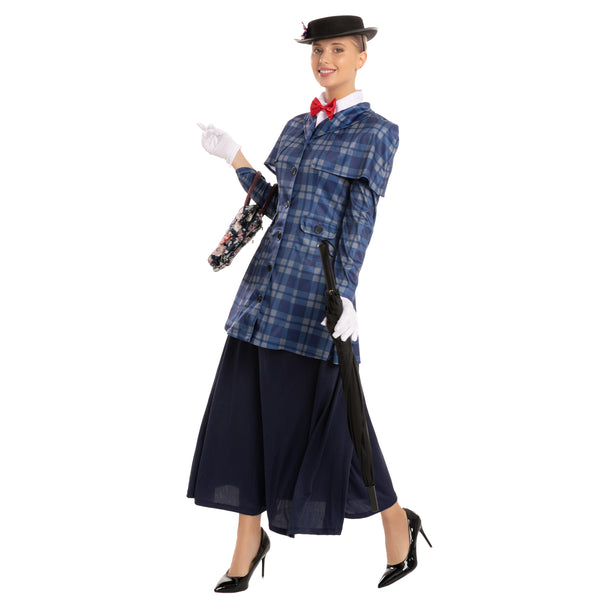 English Nanny Costume - Adult