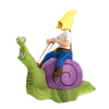 Gnome Ride-On Snail Inflatable Costume