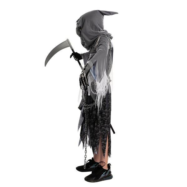 Soul Taker Reaper with Glowing Eyes Costume - Child