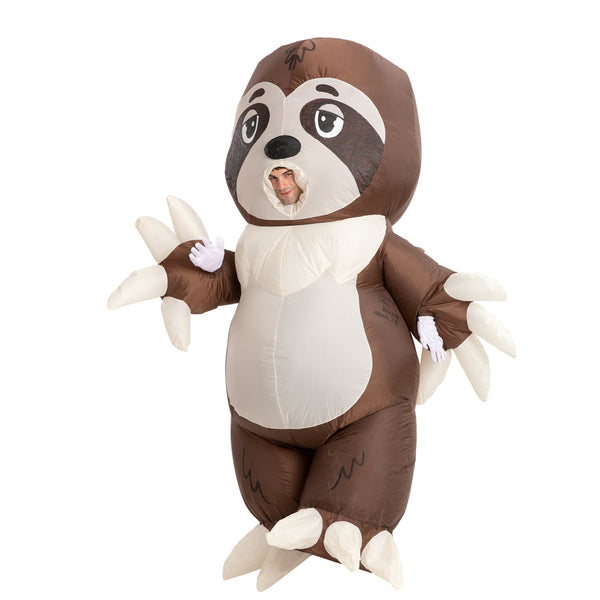 Sloth Full Body Inflatable Costume - Adult