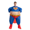 Inflatable Superhero Costume Fat Suit - Adult