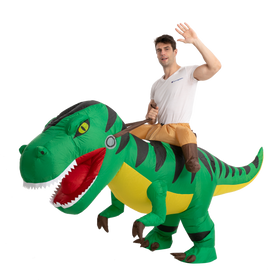 T-Rex Ride-On Inflatable Costume