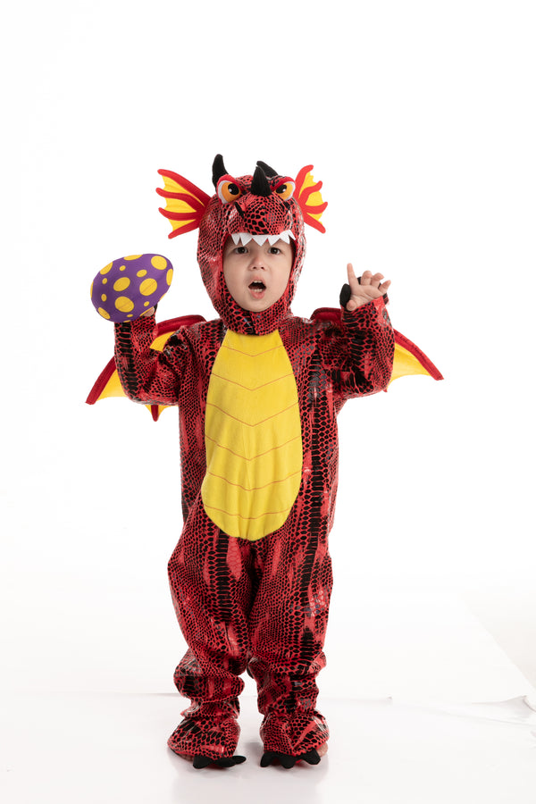 Red Dragon Costume - Child