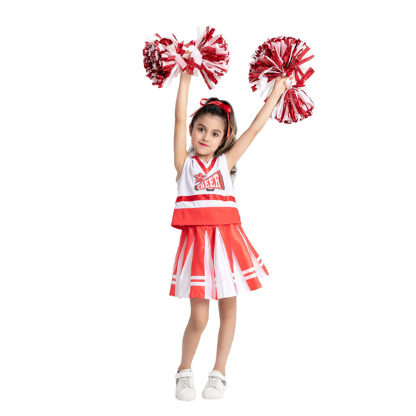 Cheerleading Girl Uniform Outfit - Child - Spooktacular Creations