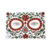 Day of the Dead 3 - Elastic Headband with Rose, Face Tattoo