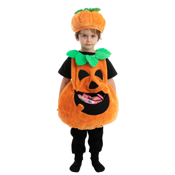 Cute Pumpkin Costume - Child - Spooktacular Creations