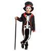 Happy Glow in the Dark Skeleton Costume - Child