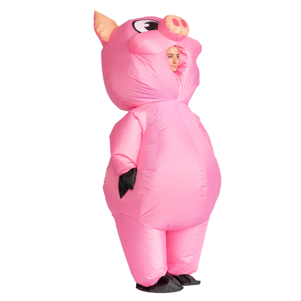 Piggy Full Body Inflatable Costume - Adult