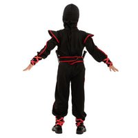 Glow in the Dark Red Ninja Costume - Child