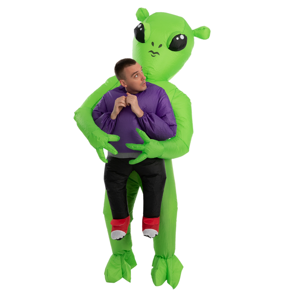 Area 51 Alien Caught Me Full Body Inflatable Costume - Adult