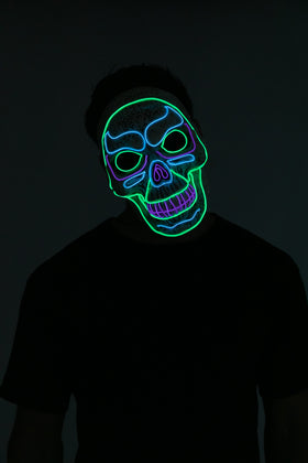 LED Skull Mask - Adult