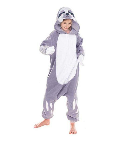 Sloth Animal Onesie Pajama Costume - Child