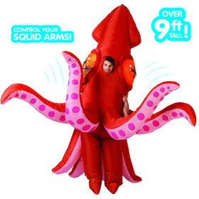 Giant Inflatable Squid Costume