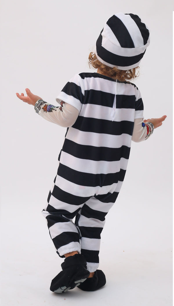 Prisoner Infant Costume Deluxe Set