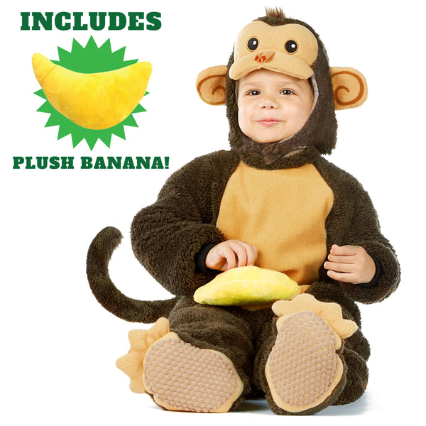 Baby Monkey Deluxe Costume Set