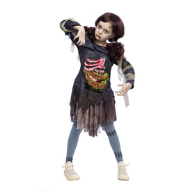 Zombie Girl Costume Set