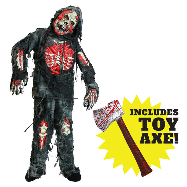 Zombie Child's Deluxe Costume Set