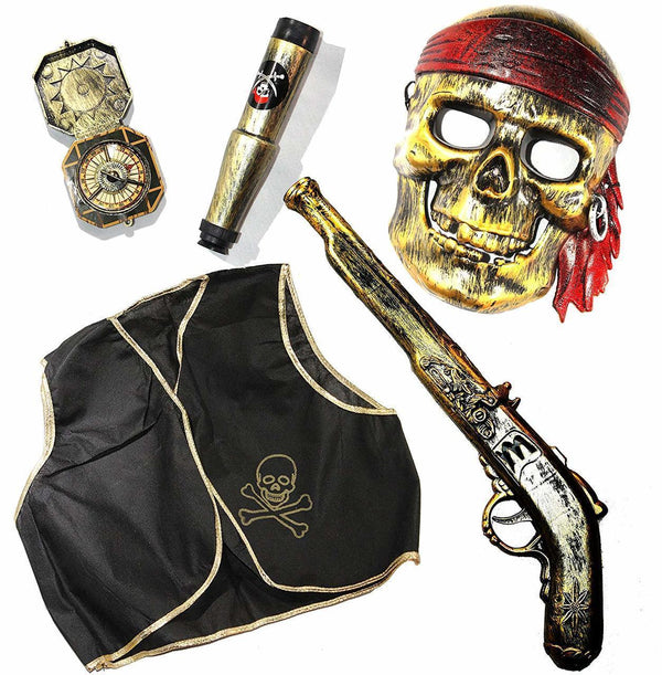 Halloween Pirate Toy Costume Accessories Set.