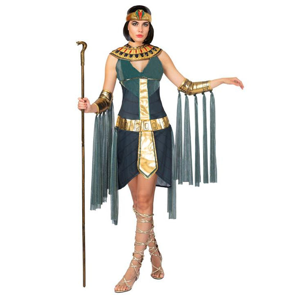 Egyptian Goddess Queen Cleopatra Costume for Women Halloween Role-Playing Cosplay - Spooktacular Creations