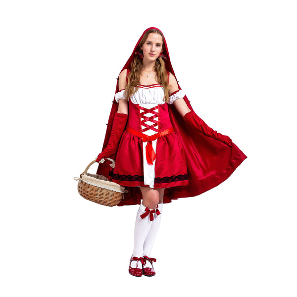 Little Red Riding Hood Halloween Costume for Women - Spooktacular Creations