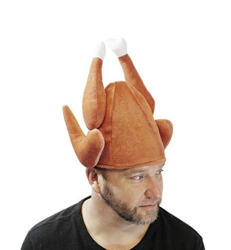 Plush Roasted Turkey Hats 3 Pack - Spooktacular Creations
