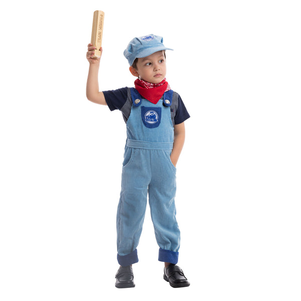 Train Engineer Costume Deluxe Set
