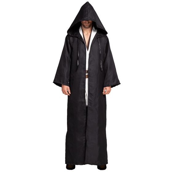 Tunic Hooded Robe Cloak Halloween Costume Role Play Cosplay  - Men's
