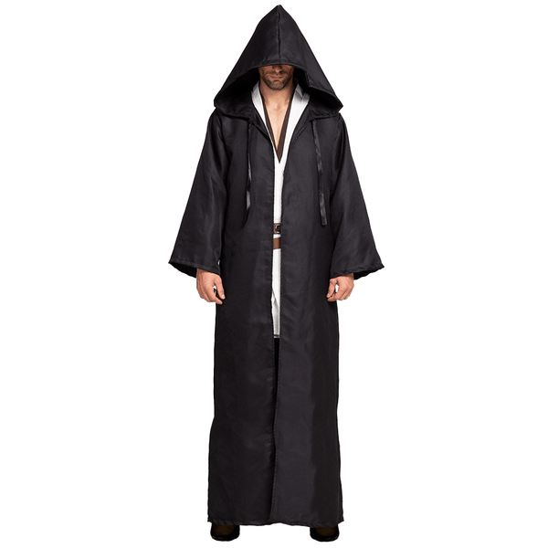 Tunic Hooded Robe Cloak Halloween Costume Role Play Cosplay  - Men's - Spooktacular Creations