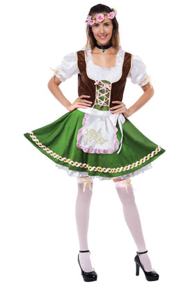 Women's German Oktoberfest Costume Set - Adult