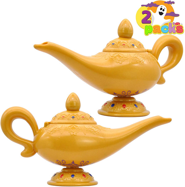 Genie Lamp Costume Accessory, 2 Pack