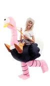 Inflatable Ride-On Ostrich Costume - Adult