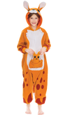 Kangaroo Animal Onesie Pajama Costume - Child