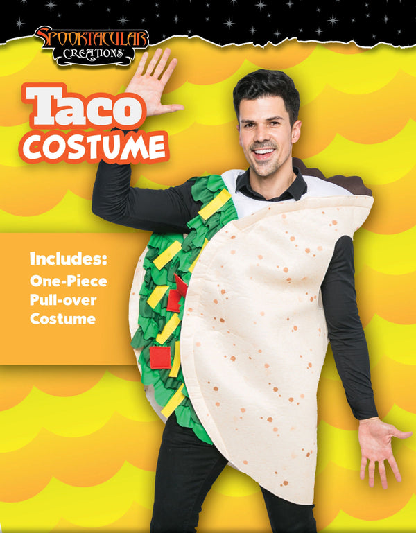 Taco Costume Deluxe Set - Adult Size