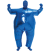 Inflatable Costume Full Body Suit Halloween Costume Metallic Shiny - Adult