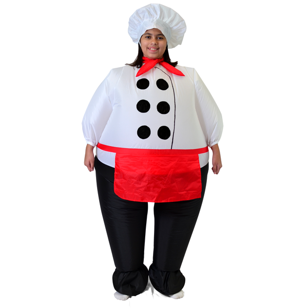 Halloween Chief Cook Inflatable Costume - Child