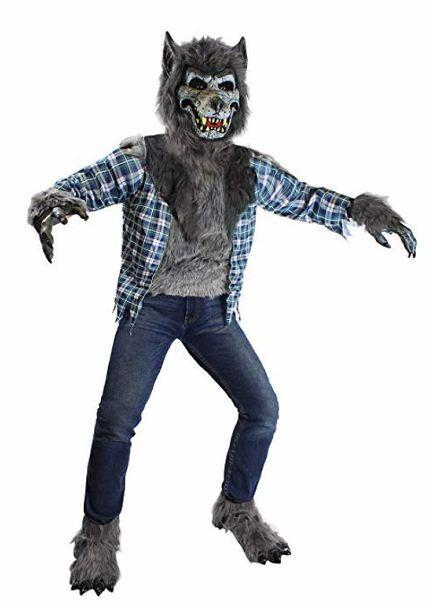 Howling Werewolf Deluxe Kids Costume Set - Spooktacular Creations