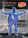 Inflatable Costume Full Body Suit Halloween Costume Metallic Shiny Adult Size - Spooktacular Creations