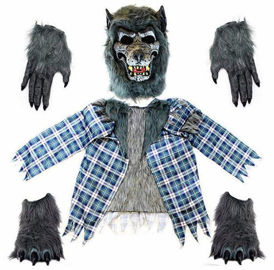 Howling Werewolf Deluxe Kids Costume Set