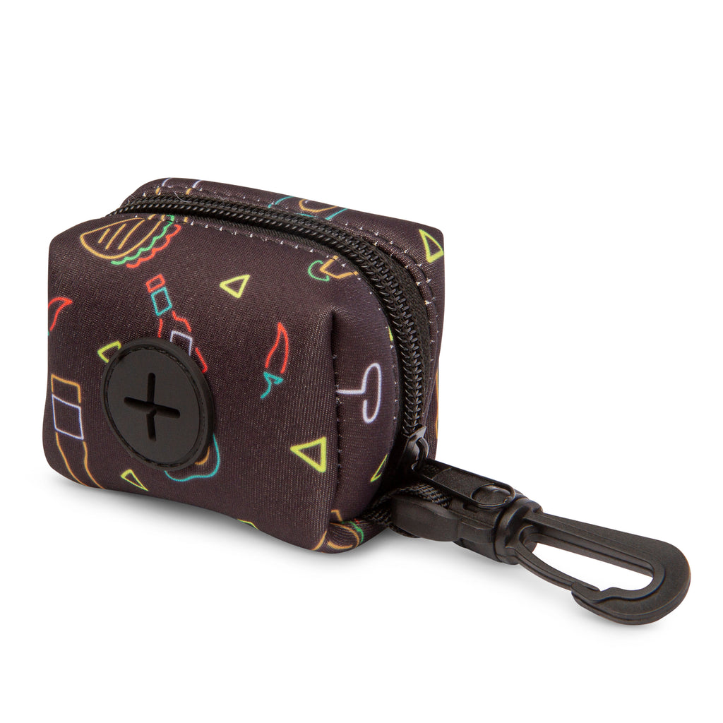 Retro Taco Tuesday Poop Bag Holder